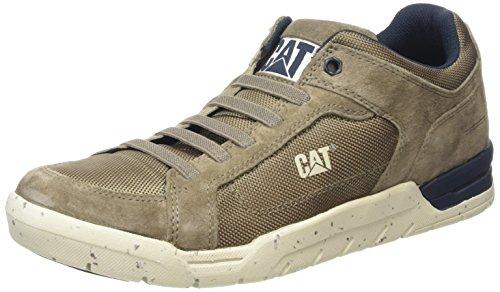 Cat - Sneaker da uomo, basse, Grigio (Mens Soft Grey), 41