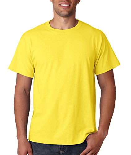 fruit-of-the-loom-heavyweight-short-sleeve-t-shirt-yellow-large