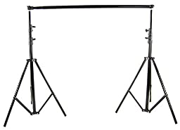 SUPON Photo 2.6m*3m Metal Backdrop Stand Background Support System + Carrying Bag kit