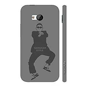 Enthopia Designer Hardshell Case GANGNAM STYLE Back Cover for HTC One M7