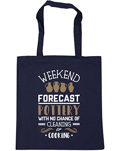 hippowarehouse-weekend-forecast-pottery-with-no-chance-of-cleaning-or-cooking-tote-shopping-gym-beac