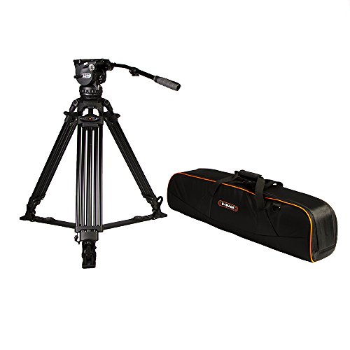 Ikan EG15C2 2 Stage Carbon Fiber Tripod with GH15 Head (Black)