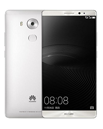 Huawei Mate 8 NXT-L29 32GB Dual SIM Factory Unlocked GSM Smartphone - International Version, No Warranty (Moonlight Silver) (Huawei Mobile compare prices)