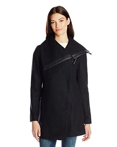 Sam Edelman Women's Fallon Wool Coat With Toggle Closure
