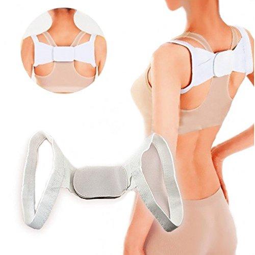 Fascia posturale per schiena per correggere la postura regolabile MWS