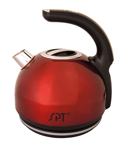 SPT SK-1800R Multi-Temp Intelligent Electric Kettle, 1.8-Liter (Electric Tea Kettle Multi Temp compare prices)