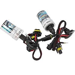 H11 55W 8000K HID Xenon Car Light Bulbs (Pair)
