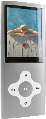 Sylvania 4 GB Video MP3 Player with FM Tuner, built in Camera/Camcorder and 2-Inch Screen (Silver)