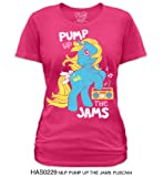 My Little Pony Pump Up The Jams Junior Pink T-Shirt
