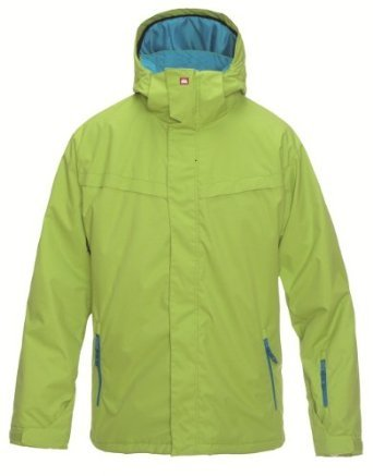 Quiksilver Last Mission Plain Men's Jacket Dirty Lime Large