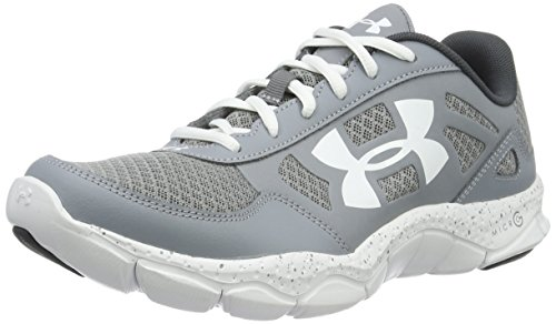 Under Armour Micro G Engage Bl H 2 - Scarpe Running Uomo, Grigio (Steel), 45 EU