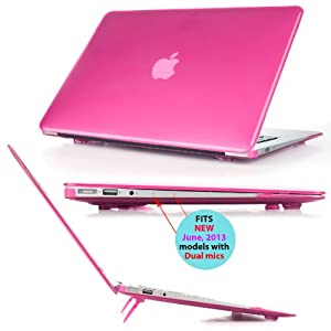 """mCover A1369 et A1466 Rose Coque de protection / couverture pour MacBook Air 13,3"""" (N'est pas compatible avec Macbook Pro 13"""" A1278 modele)"""
