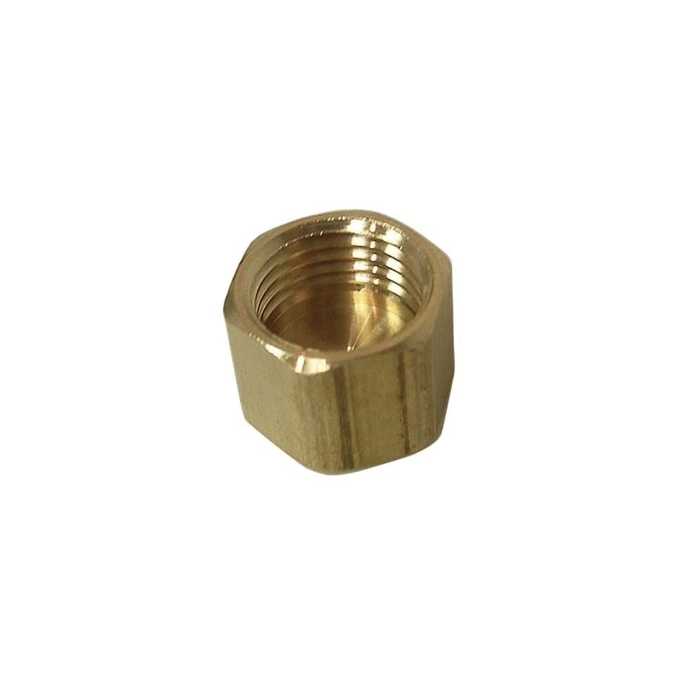 Watts A 105 Brass Compression Cap 3/8 OD 61 CX 6