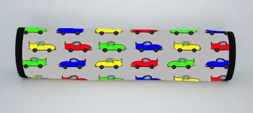 Kidzies Protector Pal, Seat Belt Strap Cover, V'Room Design front-100989