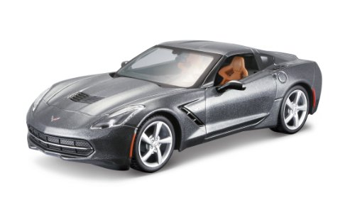 Maisto 1:24 Scale Assembly Line 2014 Corvette Stingray Coupe Diecast Model Kit (Colors May Vary) (Boy Models compare prices)