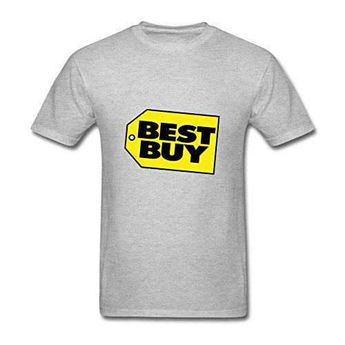 Uitgfgki Men's Best Buy Adult T-Shirt Tee SizeSGrey (Whirlpool Canada compare prices)