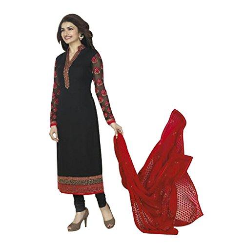 Ethnic Bollywood Pakistani Straight Shalwar Salwar Kameez Suit Wedding Ethnic Eid Muslim Women Dress Sexy Blouse