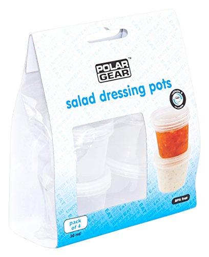 Polar Gear pour pots, transparent, lot de 4