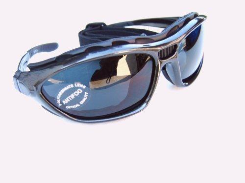 ALPLAND Gletscherbrille - Bergbrille - Skibrille-Snowboardbrille