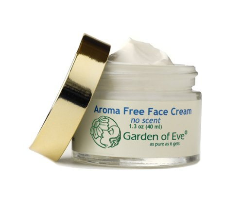 Garden of Eve Aroma Free - No Scent Face Cream (Unscented, Fragrance Free, Normal / Dry/ Sensitive)Moisturizing, Hydrating (Certified Organic Ingredients)(No synthetic ingredients, No synthetic preservatives) - 1.3 oz
