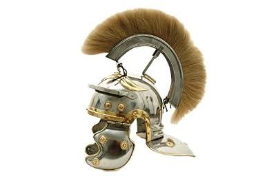 SZCO SUPPLIES 910914-WH Roman Centurion Helmet, White