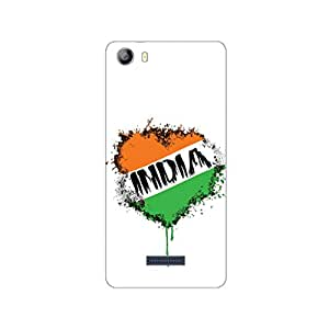 GripIt Independence Day Printed Back Cover Case for Micromax Canvas 5 (E481)
