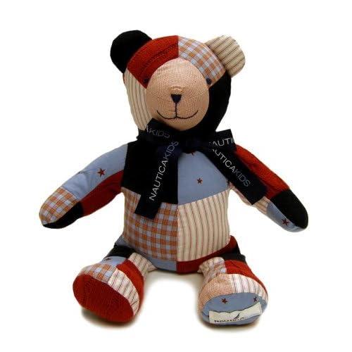 Amazon.com : Nautica Kids Patchwork Bear Jack : Baby