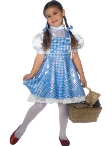 Baby-Toddler-Costume Wiz Of Oz Dorothy Deluxe Toddler Costume Halloween Costume