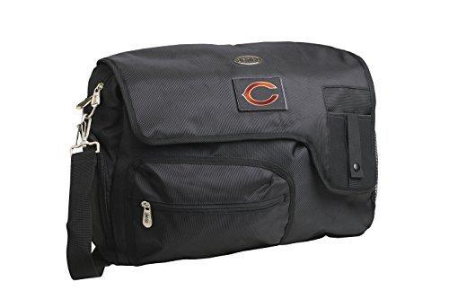 nfl-chicago-bears-travel-messenger-bag-15-inch-black-by-denco