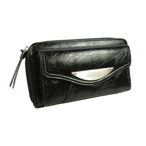 Kenneth Cole Reaction Glazed Urban Organizer Clutch Wallet in Choice of Colors