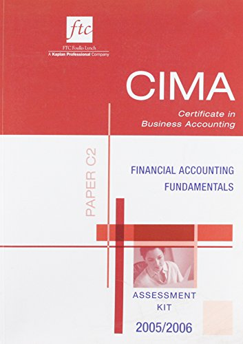 Financial Accounting Fundamentals: Paper C2 (CIMA Exam Kit)