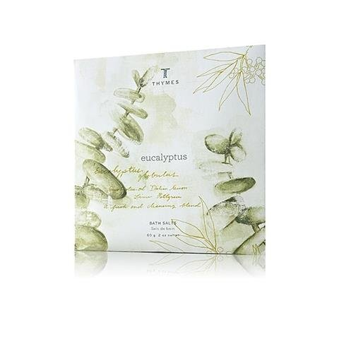Thymes Eucalyptus Bath Salts Envelope 2 oz/60 g (Thymes Bath Salts compare prices)