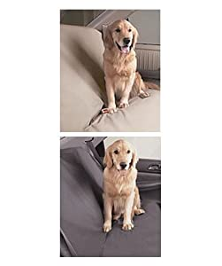 """Car Seat Cover for Dogs - Med (56""""W) Color Slate"""