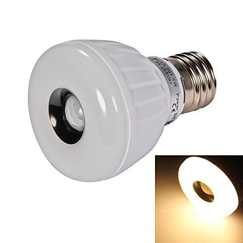 Signstek PIR E27 LED Leuchtmittel mit Bewegungsmelder Licht Lampe Strahler Warmweiß 5W
