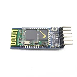 Sunkee 30ft Wireless Bluetooth RF Transceiver Module serial RS232 TTL HC-05 for arduino