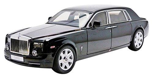 kyosho-escala-118-rolls-royce-phantom-extended-distancia-entre-ejes-del-diamante-del-coche-negro