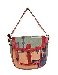 Traditional Rugs Made Women Shoulder Bag Indian Ethnic Printed Handbag