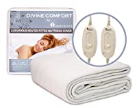 Homefront Fully Fitted Washable King Size Mattress Cover Dual Control by DIRECT SALES