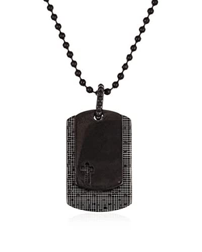 1913 Two-Tone Dog Tag Necklace