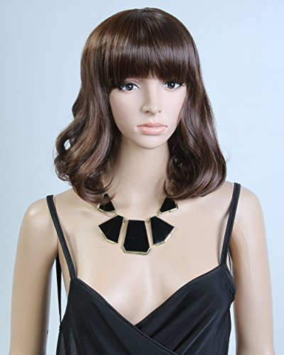... Model: Jf010190) (Dark Brown) from Cool2day - Wigs for Women Over 50