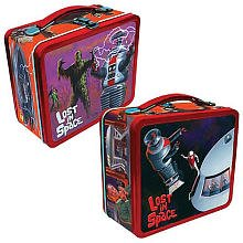 Lost in Space Tin Tote Lunch Box Lunchbox from Tin10 Collectibles