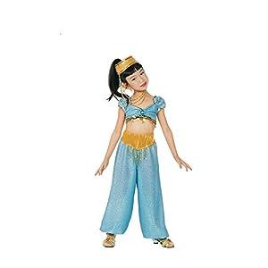 Child Large 10-12 - Deluxe Aqua Genie Jasmine Costume