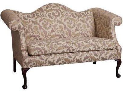 AC Furniture 20002 Camelback Loveseat - Grade 1, 20002-grade1, 20002 grade1, 20002grade1
