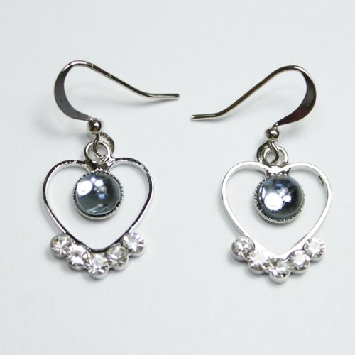 Custom Fashion Jewelry Earrings Blue