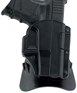 Galco M4X Matrix Auto Locking Holster for 1911 4-Inch, 4 1/4-Inch Colt, Kimber, Para, Springfield, Smith (Black, Right-hand)