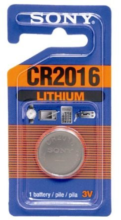Sony Lithium Coin Battery CR2016 (Discontinued by Manufacturer)
