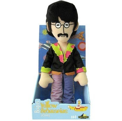 Yellow Submarine Band Member Shakems - Deluxe Premium Motion Statue (Swapable Head) John - 1
