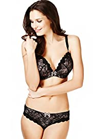 Limited Collection Flirt Lace Padded Plunge DD-GG Bra