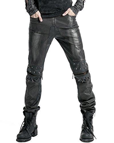 Punk Rave -  Jeans  - Uomo Black Medium