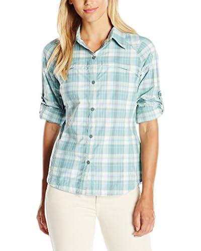 Columbia Camisa Mujer Azul Claro